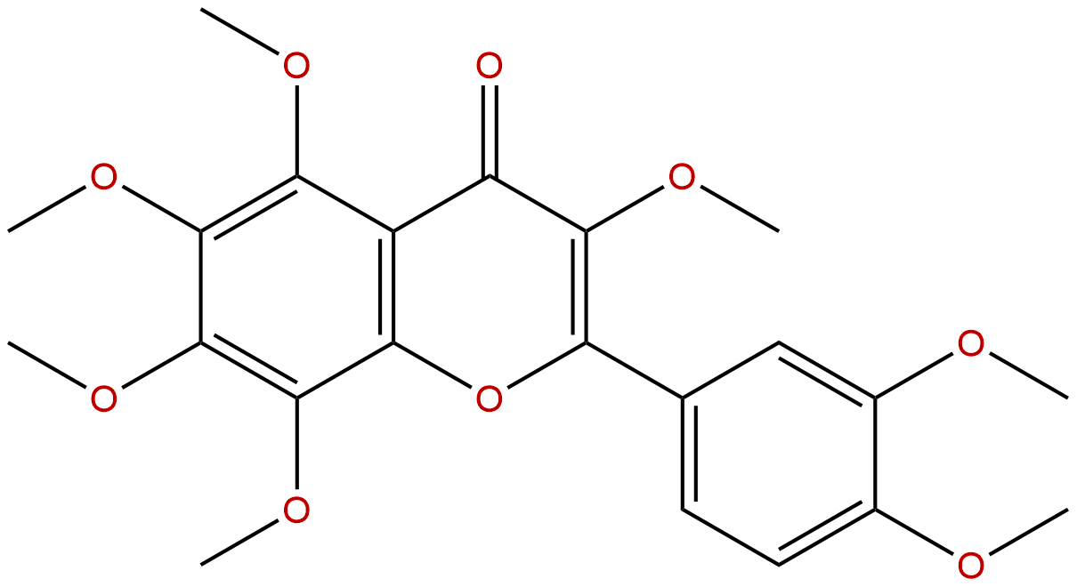 3,5,6,7,8,3',4'-Heptamethoxyflavone