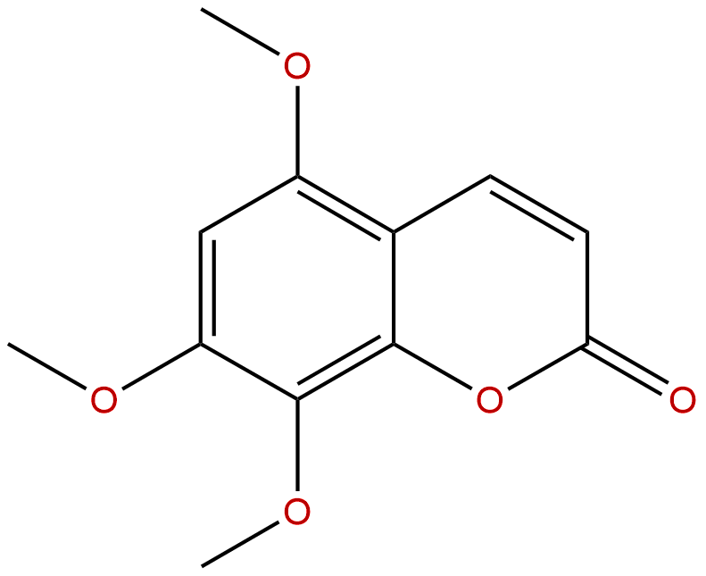 5,7,8-Trimethoxycoumarin