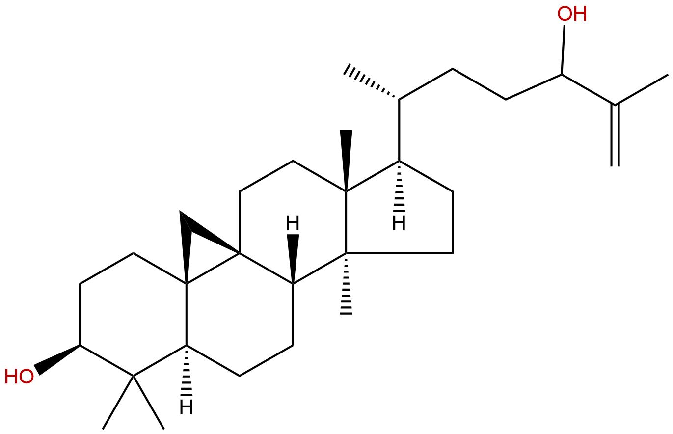 Cycloart-25-ene-3β,24-diol