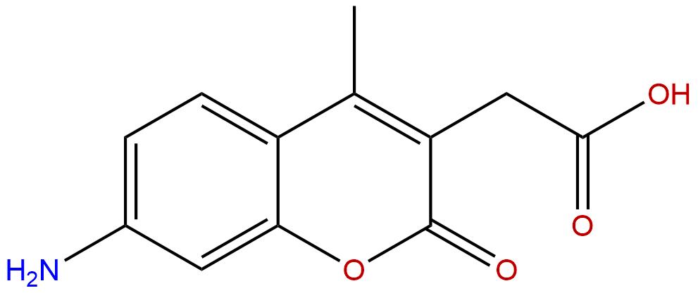 7-Amino-4-methyl-3-coumarinylacetic acid