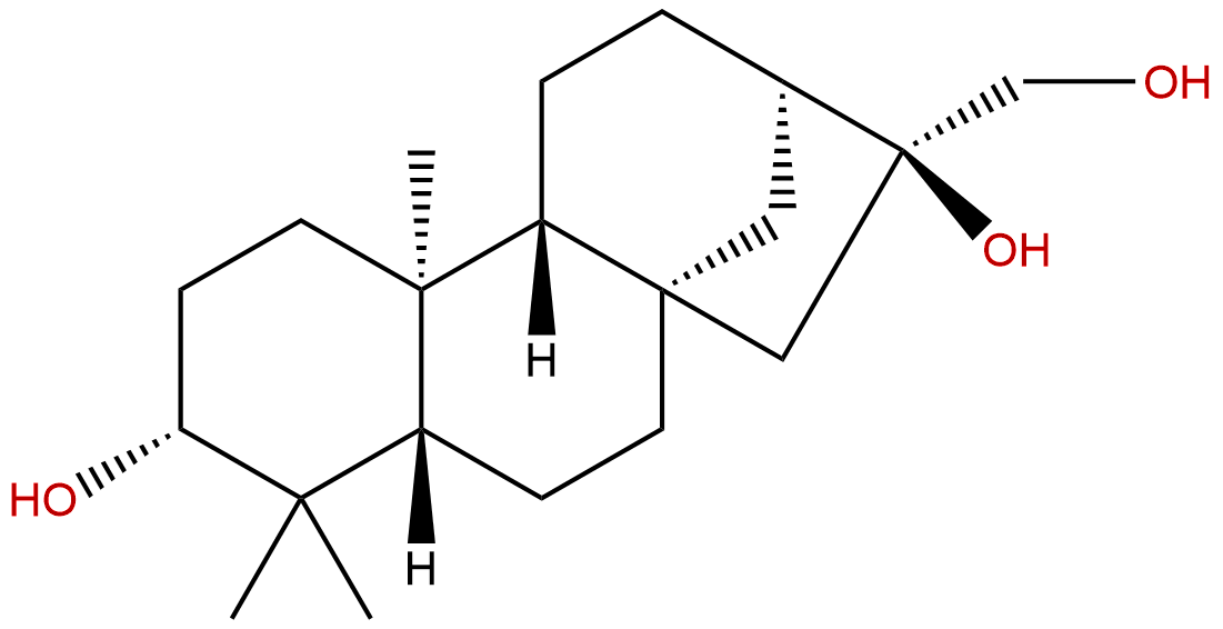 ent-Kaurane-3β,16α,17-triol