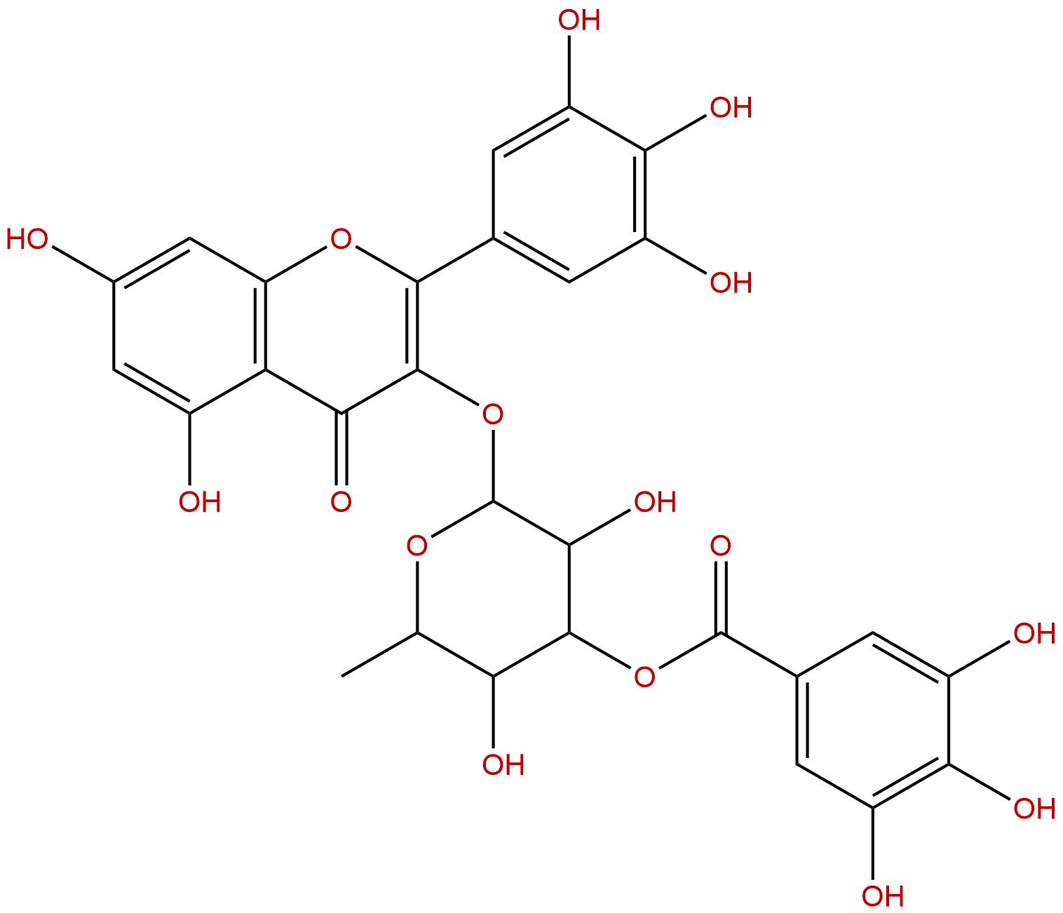 3''-O-Galloylmucic acid