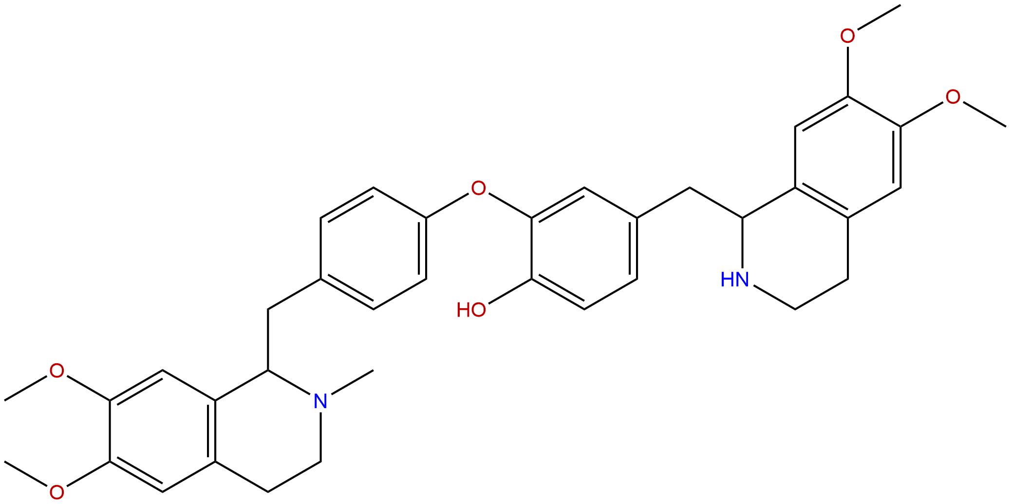 N-desmethyldauricine