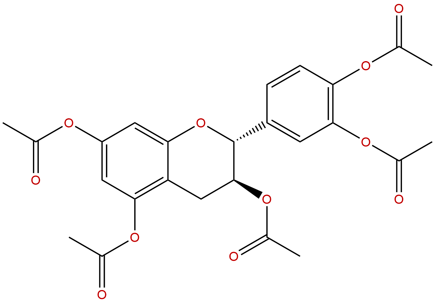 Catechin pentaacetate