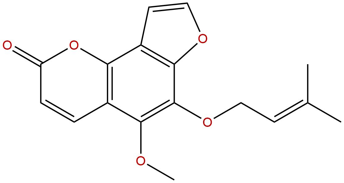 6-Isopentenyloxyisobergapten