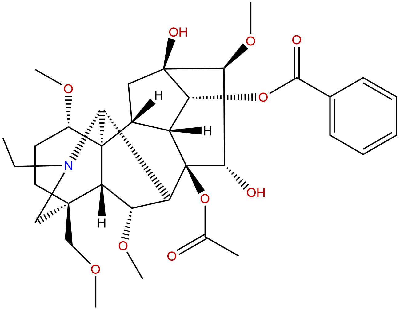 3-Deoxyaconitine
