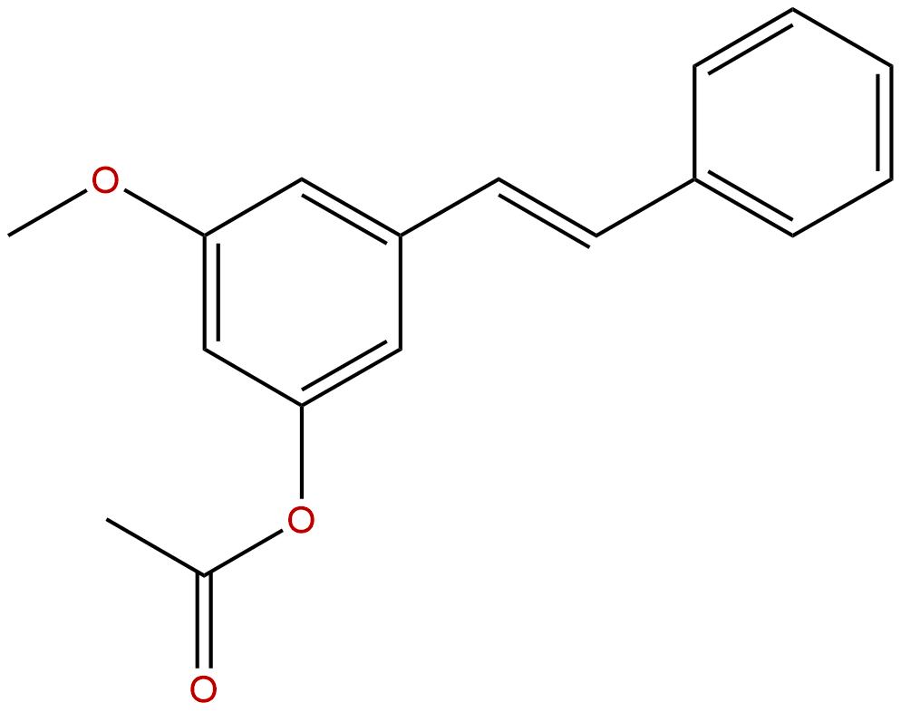 3-Acetoxy-5-methoxystilbene