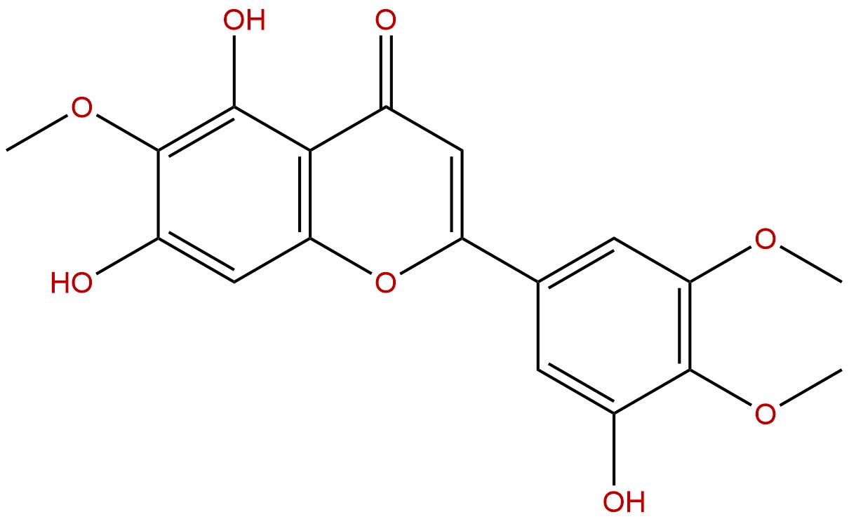 5,7,3'-Trihydroxy-6,4',5'-trimethoxyflavone