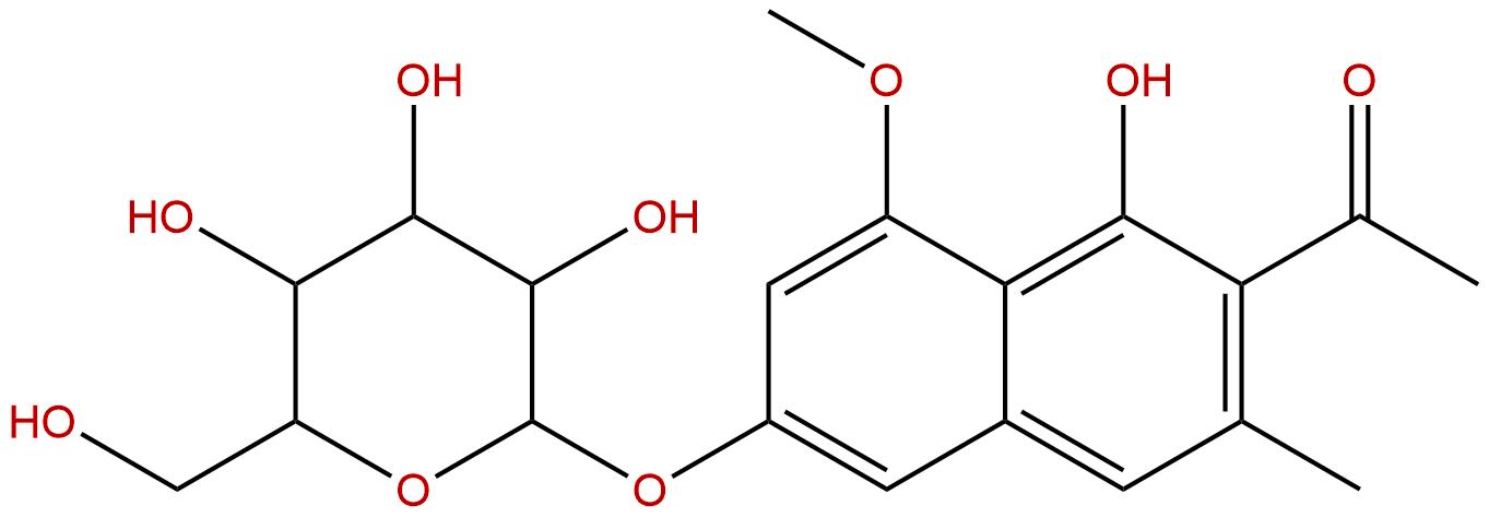 Tinnevellin glucoside