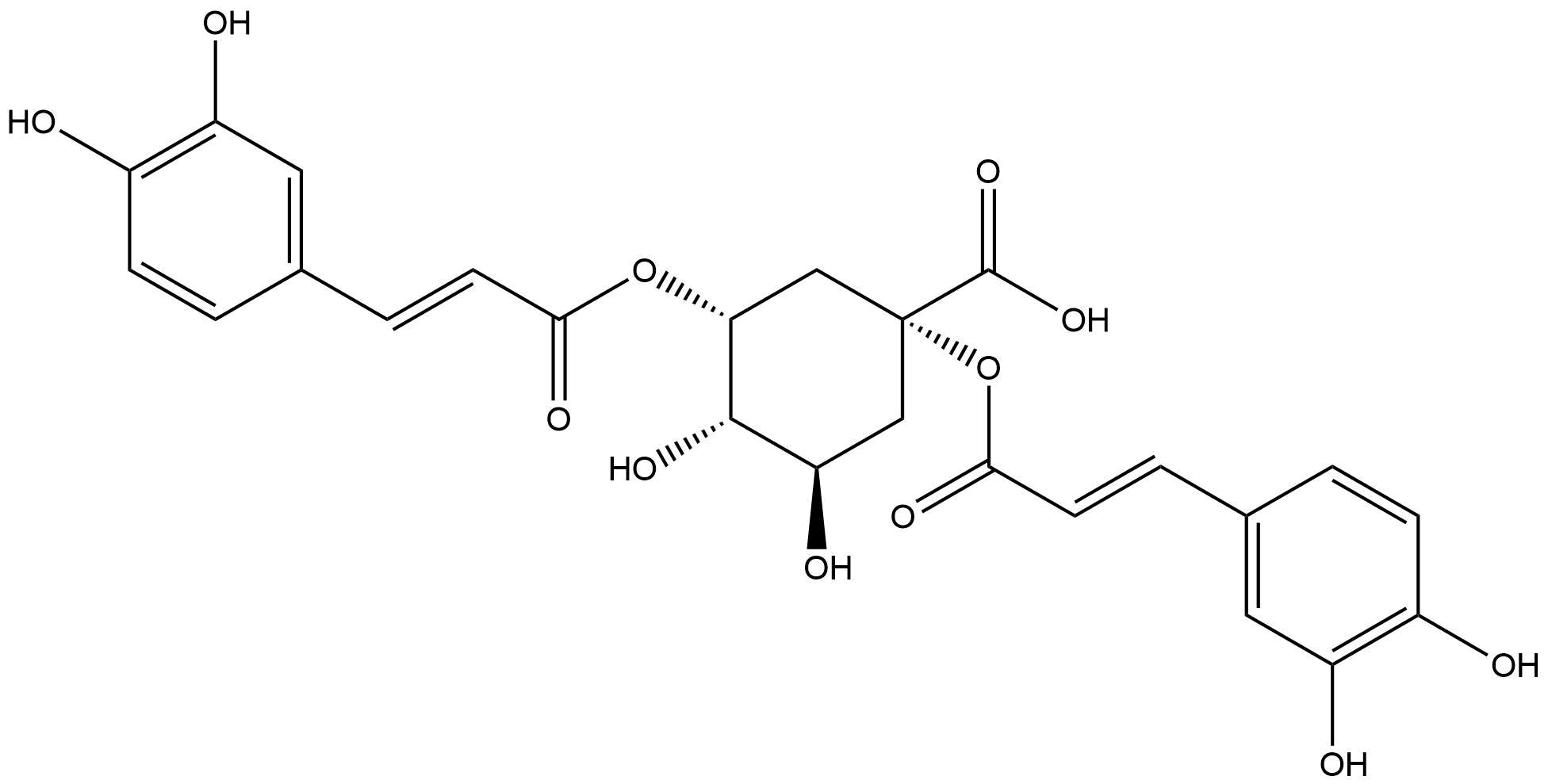 1,3-Dicaffeoylquinic acid